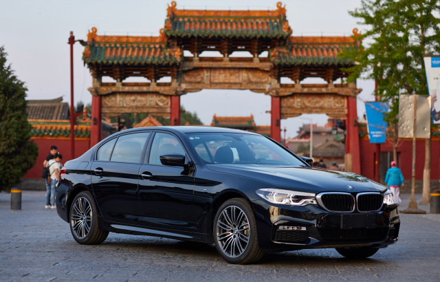 2018 BMW 5-Series built by BMW Brilliance Automotive joint venture