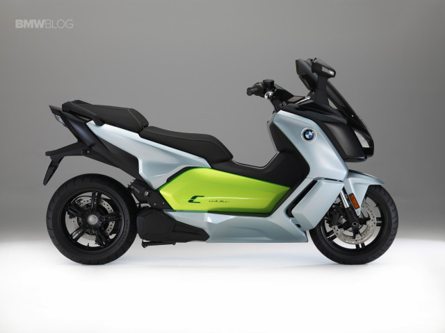 2018 BMW C-Evolution electric scooter