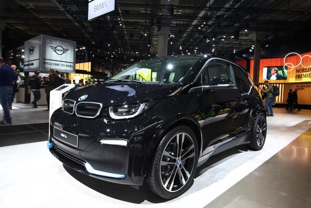 2018 BMW i3, 2017 Frankfurt Motor Show