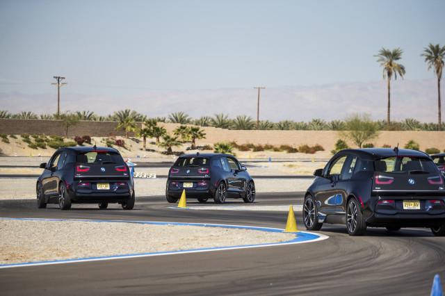 2018 BMW i3s, BMW Test Fest autocross, February 2018