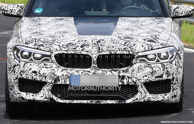 2018 BMW M5 Spy Shots