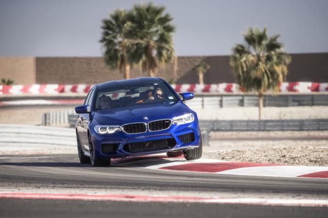 2018 BMW M5, BMW Test Fest, February 2018