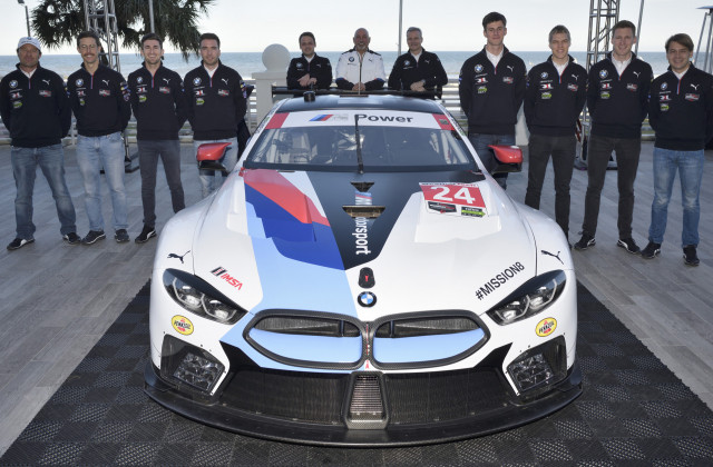 2018 BMW M8 GTE race car
