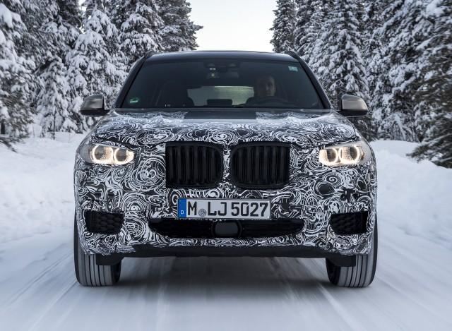 2018 BMW X3 prototype