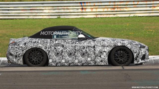 2018 BMW Z4 spy shots - Image via S. Baldauf/SB-Medien