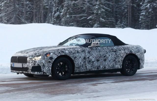 2018 BMW Z5 Spy Shots   Image Via S. Baldauf/SB Medien