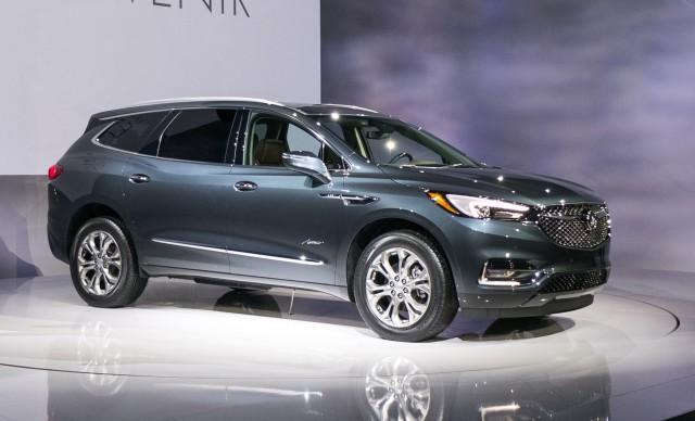 2018 Buick Enclave Avenir 2017 New York Auto Show