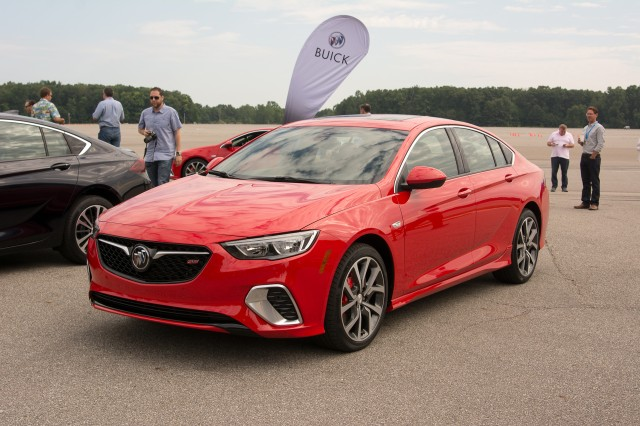 2018 Buick Regal GS debut