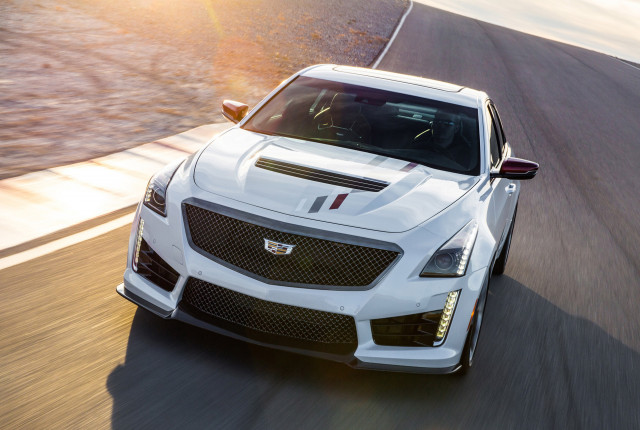 2018 Cadillac ATS-V and CTS-V Championship Edition models