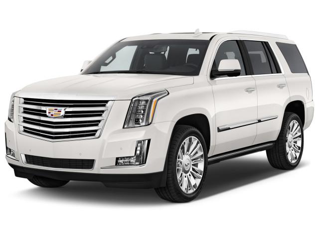 2018 Cadillac Escalade 4WD 4-door Platinum Angular Front Exterior View
