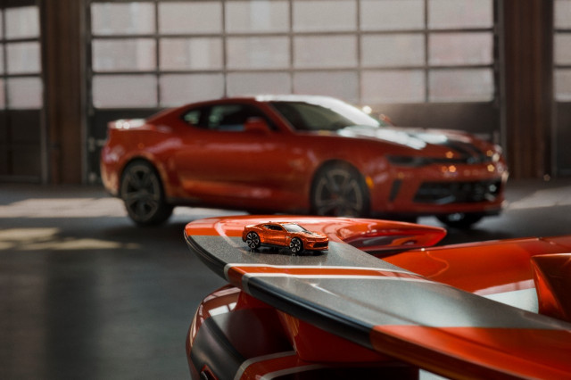 2018 Chevrolet Camaro Hot Wheels Edition