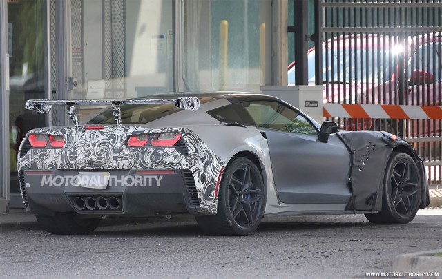 How much horsepower does the new 2018 Chevrolet Corvette ZR1 need to ...