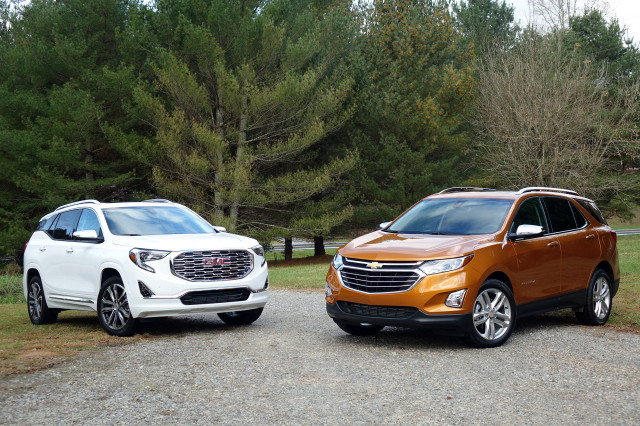2018 Chevrolet Equinox vs. 2018 GMC Terrain