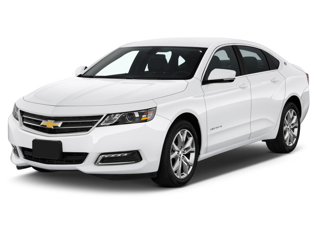 2018 Chevrolet Impala 4-door Sedan LT w/1LT Angular Front Exterior View