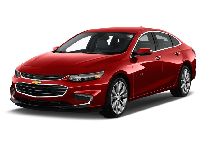 2018 Chevrolet Malibu 4-door Sedan Premier w/2LZ Angular Front Exterior View