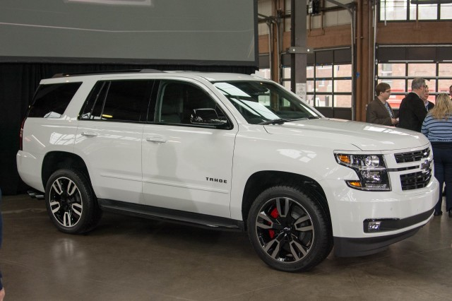 Chevrolet Adds Muscle To Tahoe Suburban With New Rst Package