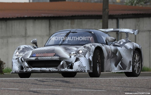 2018 Dallara sports car spy shots - Image via S. Baldauf/SB-Medien