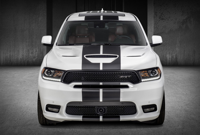 2018 Dodge Durango SRT with Mopar accessories
