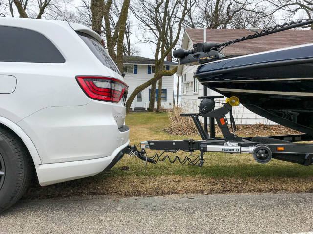 2019 Dodge Durango SRT towing