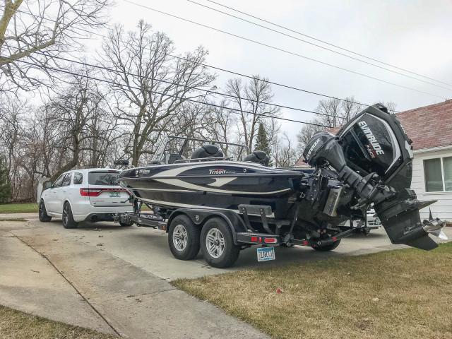 2019 Dodge Durango SRT towing