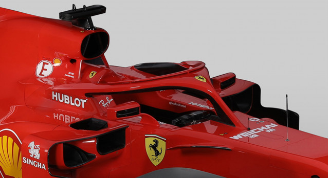 2018 Ferrari SF71H Formula 1 race car