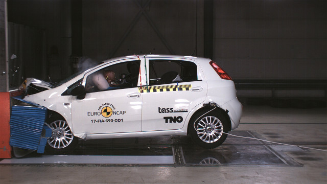 2018 Fiat Punto fails Euro NCAP crash test