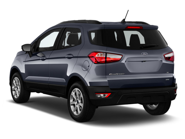 In Titanium Trim The Ecosports Leather Seats Delivered A High Driving Position Good Low Back Support And Adjustable Headrests