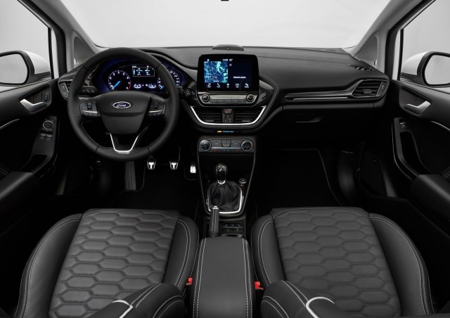 2018 Ford Fiesta (European spec)
