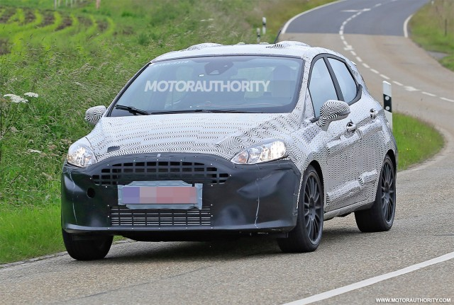 2018 Ford Fiesta ST spy shots - Image via S. Baldauf/SB-Median