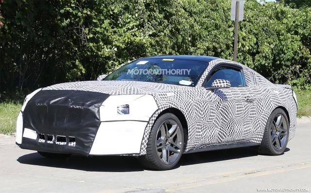 2018 Ford Mustang Facelift Spy Shots Image Via S Baldauf Sb Men