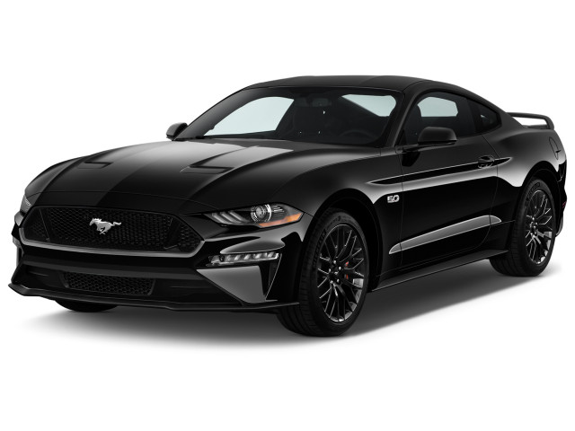 2018 Ford Mustang GT Fastback Angular Front Exterior View