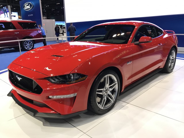2018 Ford Mustang 2017 Chicago Auto Show