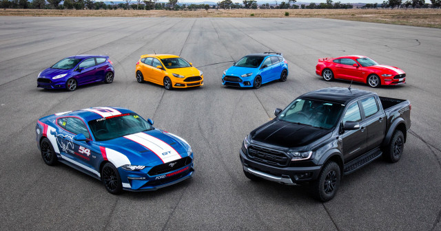 2018 Ford Performance lineup in Australia