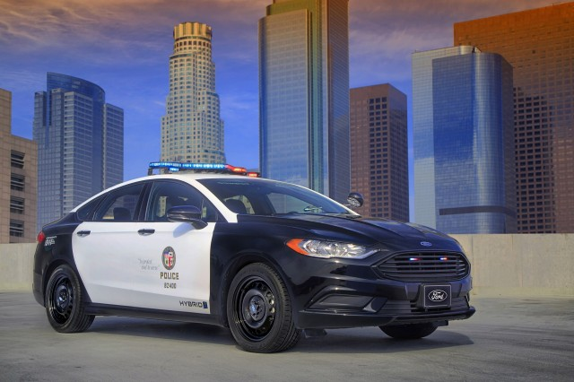 2018 Ford Police Responder Hybrid Sedan Pursuit Rated Car