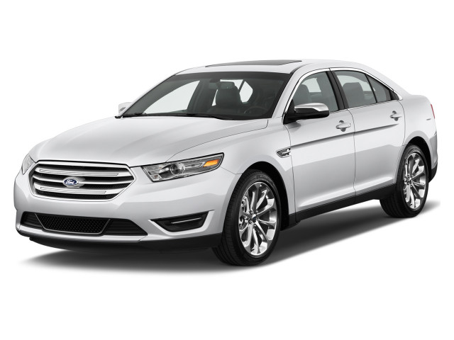 2018 Ford Taurus Limited FWD Angular Front Exterior View