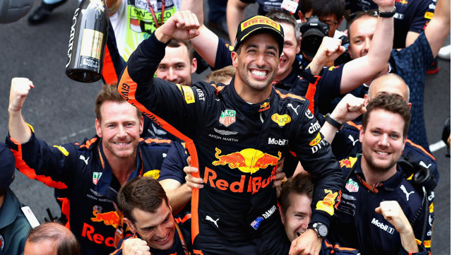 Sebastian Vettel admits that Daniel Ricciardo 'had all the answers'