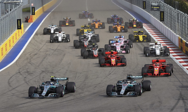 2018 Formula 1 Russian Grand Prix