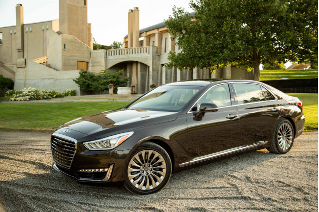 genesis g90 for sale the car connection. Black Bedroom Furniture Sets. Home Design Ideas
