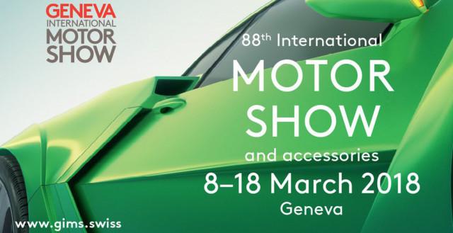 2018 Geneva International Motor Show logo