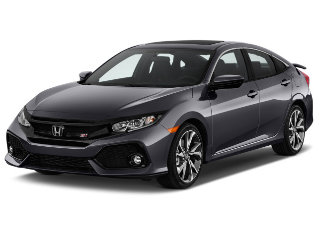 2018 Honda Civic Si Sedan Manual Angular Front Exterior View