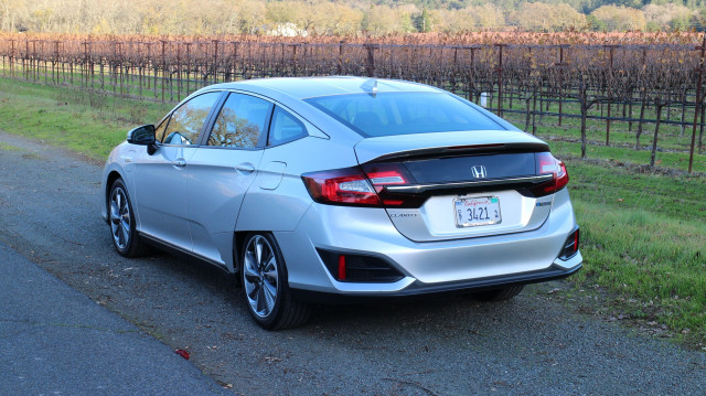2018 Honda Clarity Plug In Hybrid Drive Napa Valley Caifornia Dec 2017