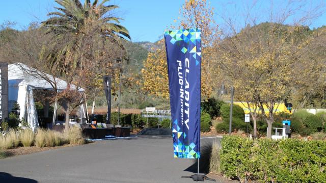 2018 Honda Clarity Plug-In Hybrid drive, Napa Valley, Caifornia, Dec 2017