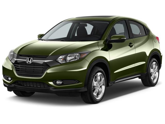 2018 Honda Hr V Ex 2wd Manual Angular Front Exterior View
