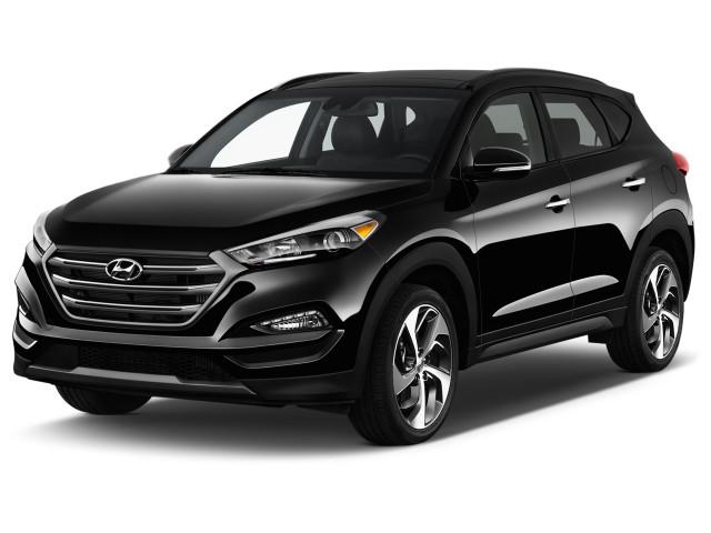 2018 Hyundai Tucson Limited AWD Angular Front Exterior View