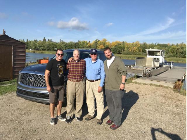 2018 Infiniti QX80 on a Canadian fishing adventure