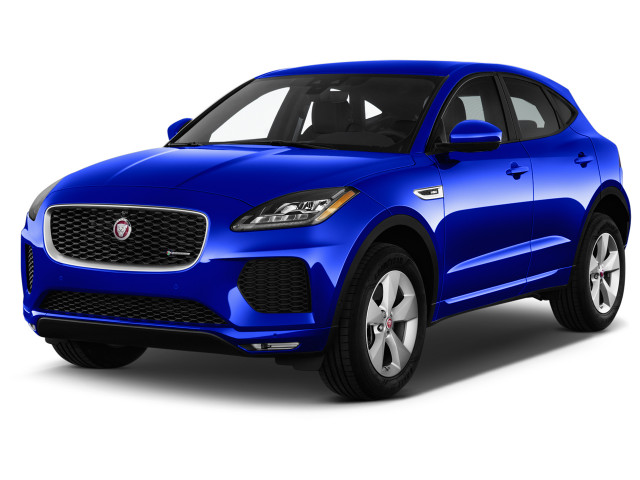 2018 Jaguar E-Pace P300 AWD R-Dynamic S Angular Front Exterior View