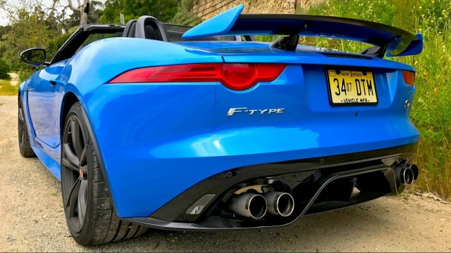 Jaguar F-Type SVR with Engineering Explained