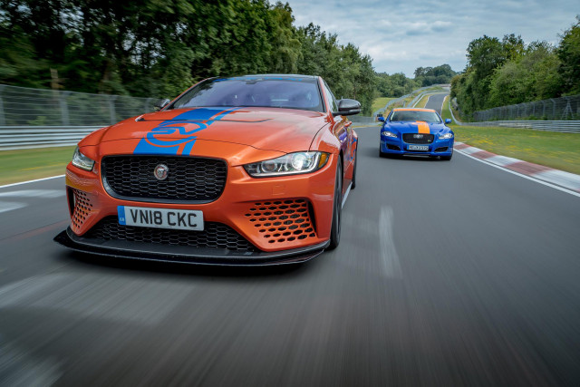 2018 Jaguar XE SV Project 8 Nürburgring Race Taxi