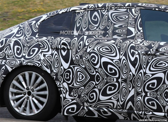 2018 Jaguar XEL spy shots - Image via S. Baldauf/SB-Medien