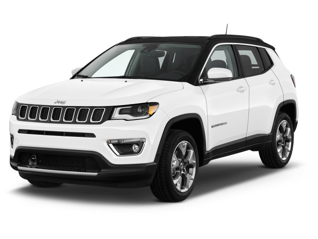 2018 Jeep Compass Limited 4x4 Angular Front Exterior View